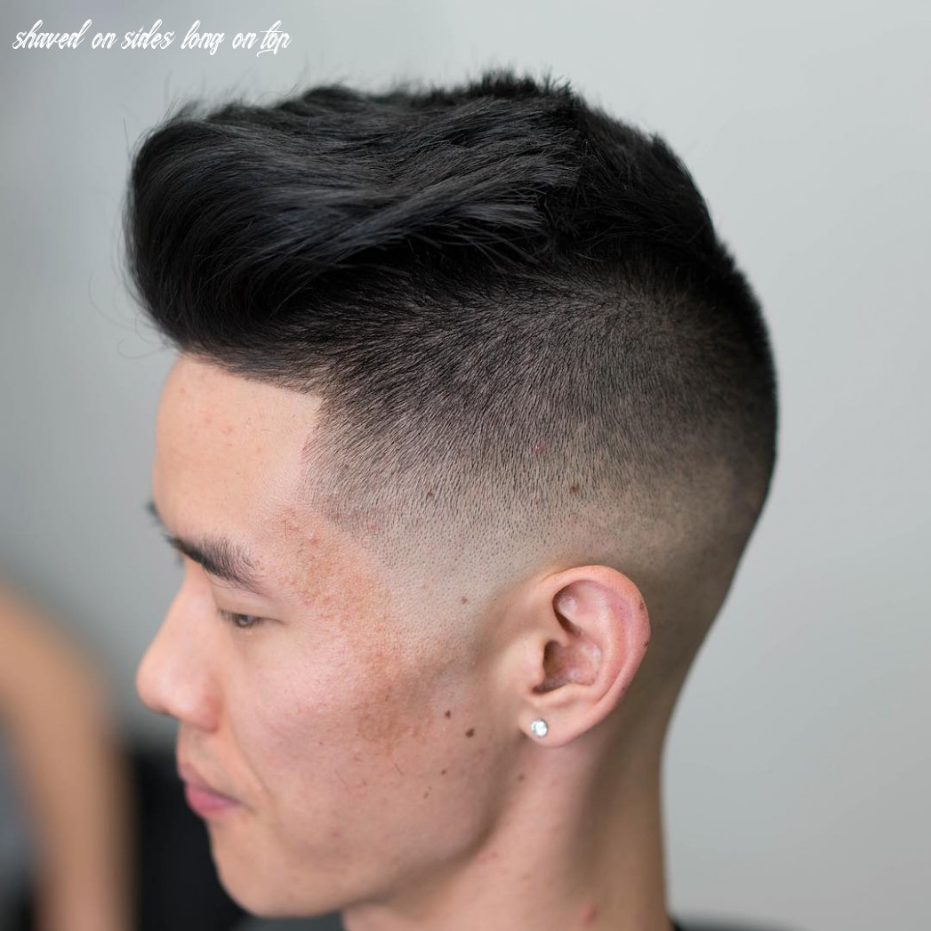 Shaved sides haircuts > 9 cool fade styles for 9 shaved on sides long on top