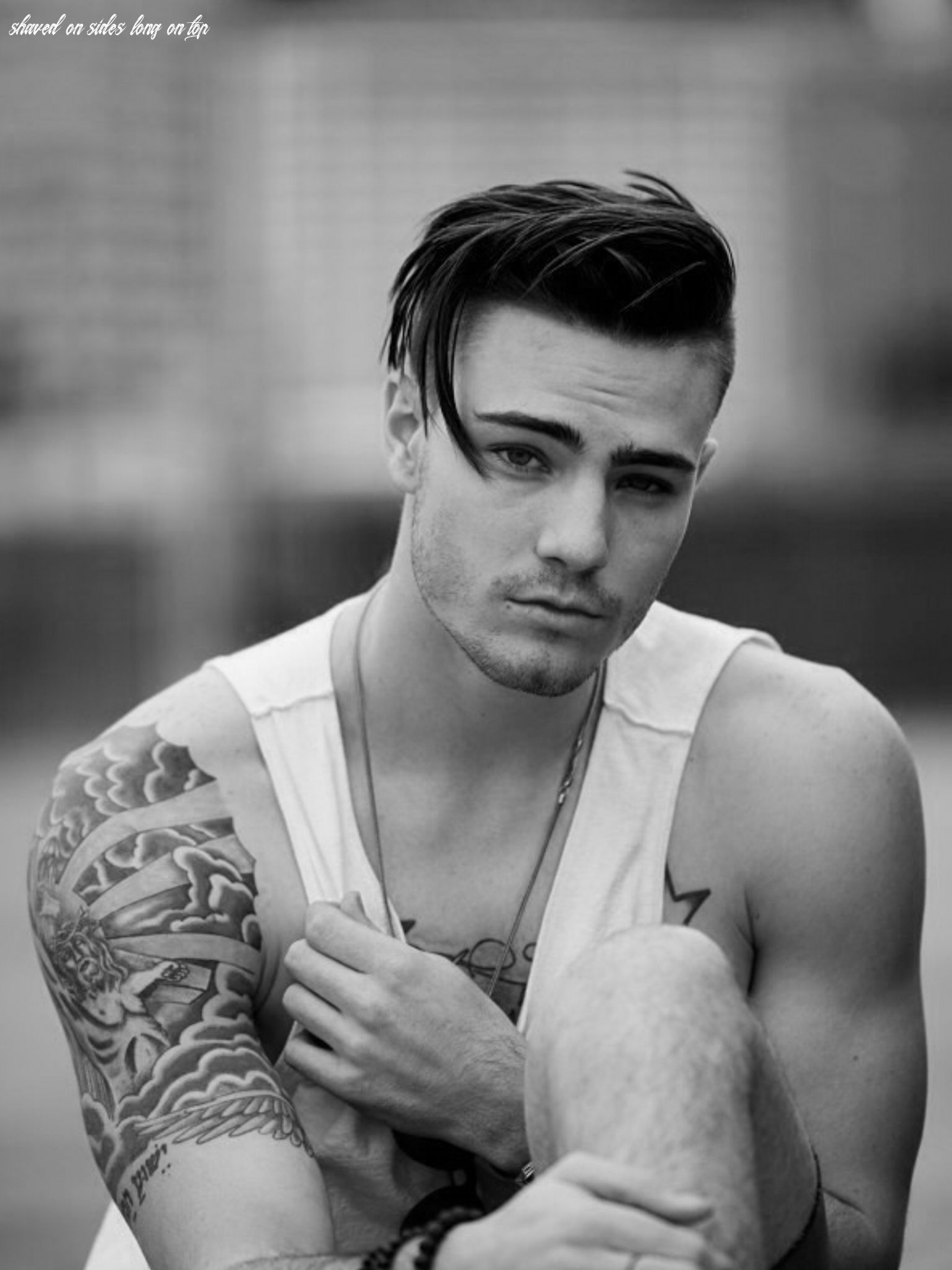 shaved sides, long top. | Mens hairstyles fade, Hipster haircuts ...