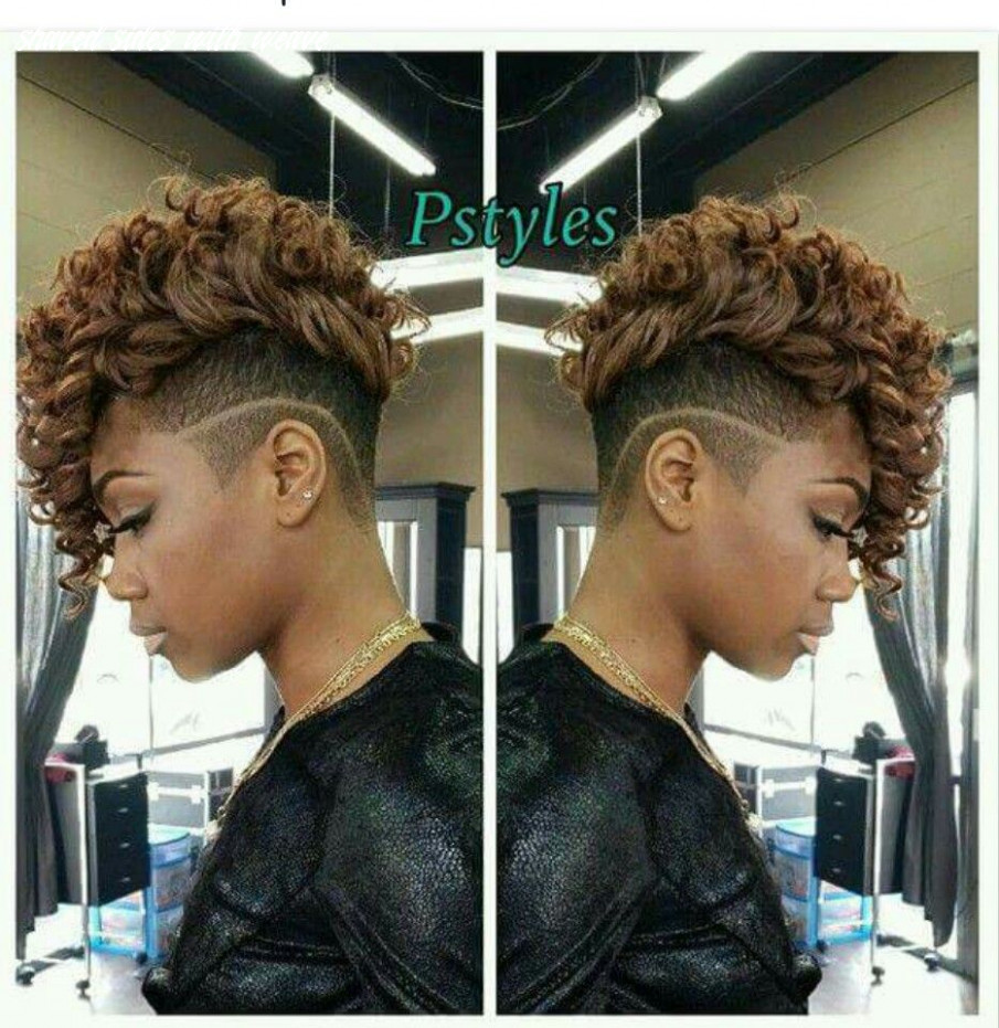Shaved sides | short curly weave hairstyles, natural hair styles