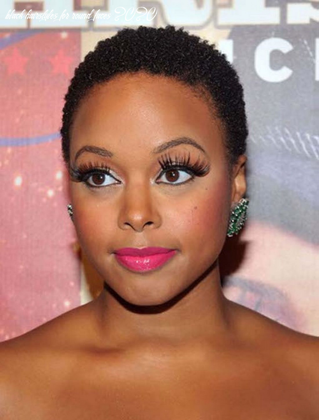 Short african american hairstyles for round faces 12 12