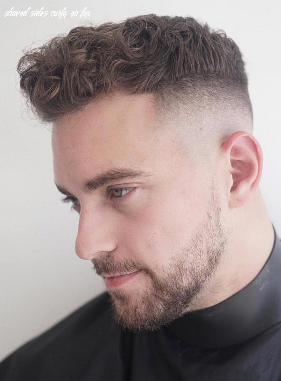 Short back and sides curly on top   find your perfect hair style shaved sides curly on top
