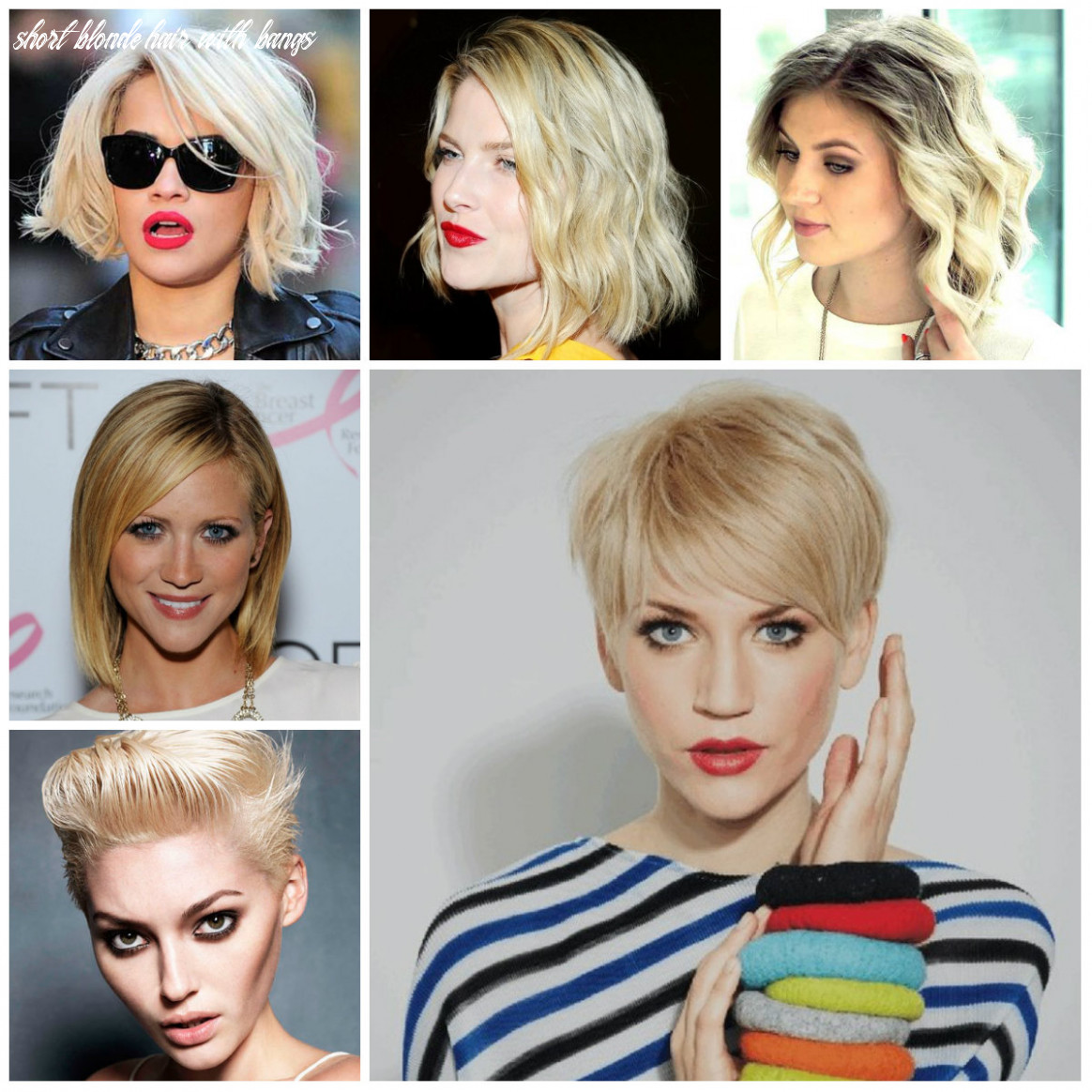 Short Blonde Hairstyle Inspiration for 9 | 9 Haircuts ...