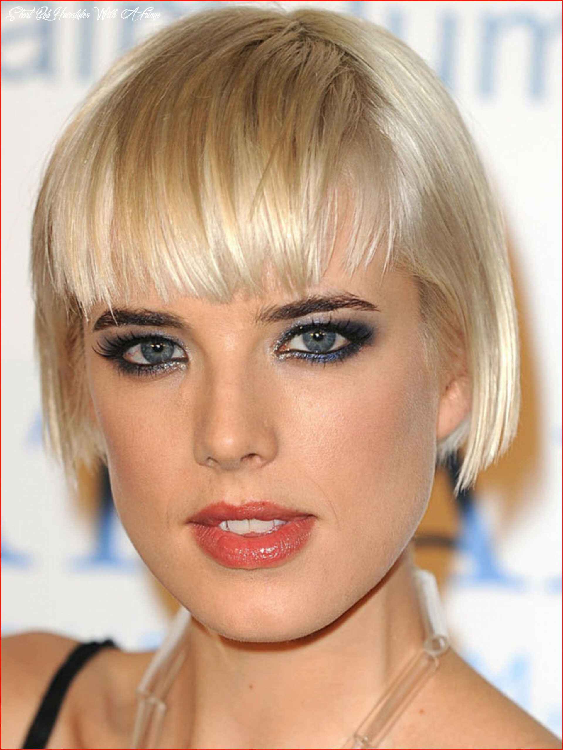 Short bob hairstyles with a fringe archives popshopdjs