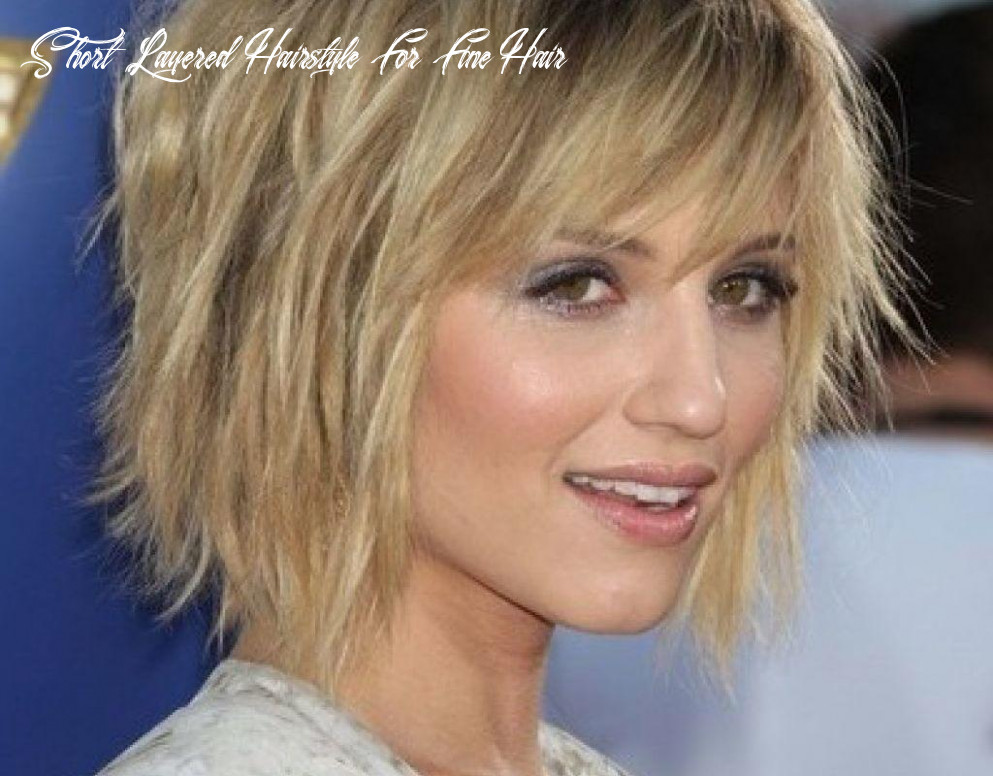 Short choppy layered hairstyles for fine hair | sophie hairstyles
