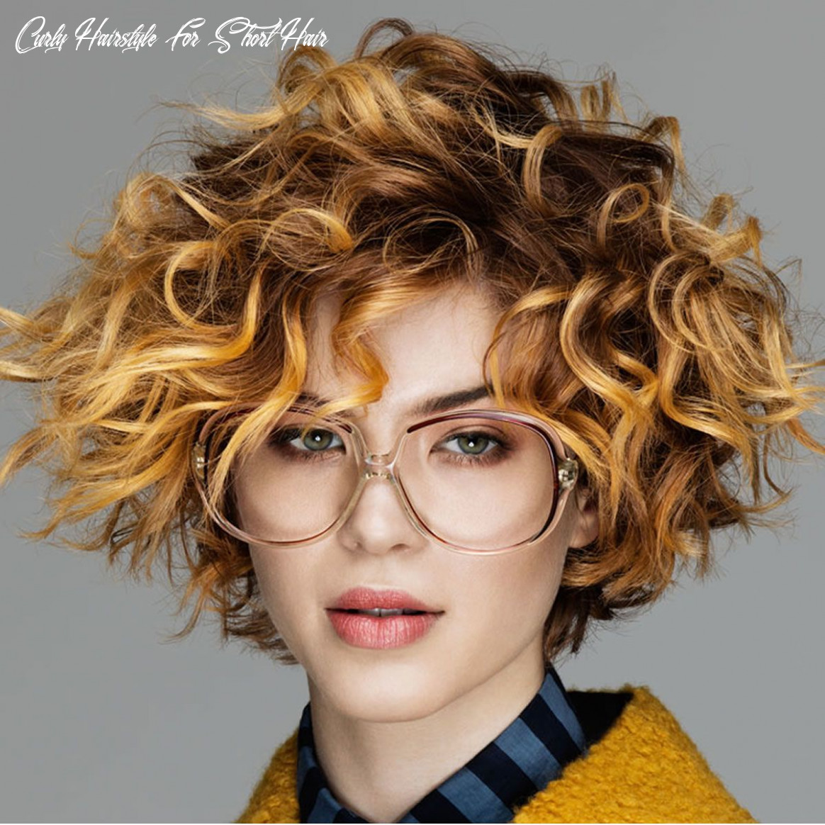 Short curly haircuts for long faces | short curly hairstyles for