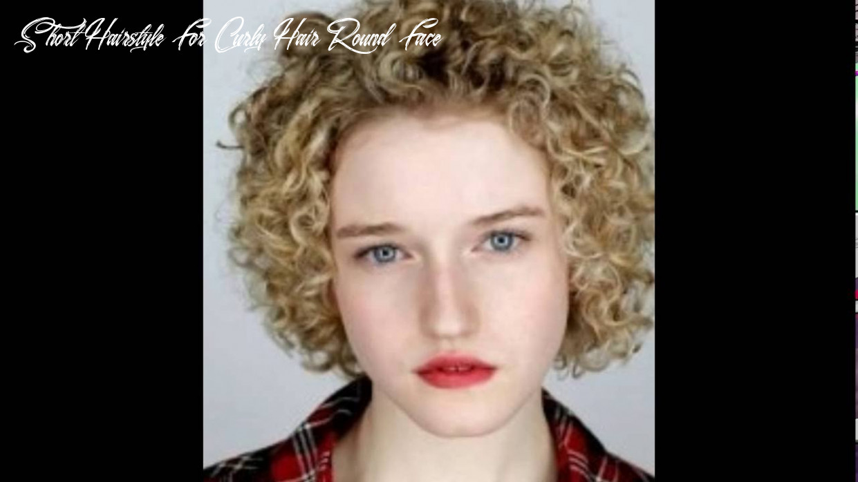 Short Curly Hairstyles For Round Faces । Curly Hairstyles For Short Hair