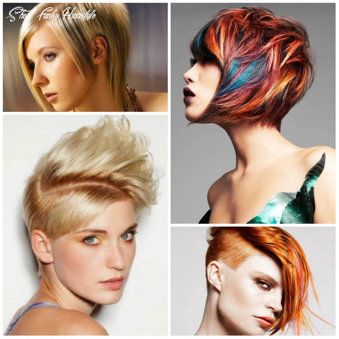 Short funky haircut ideas for 8 hairstyleto short funky hairstyle