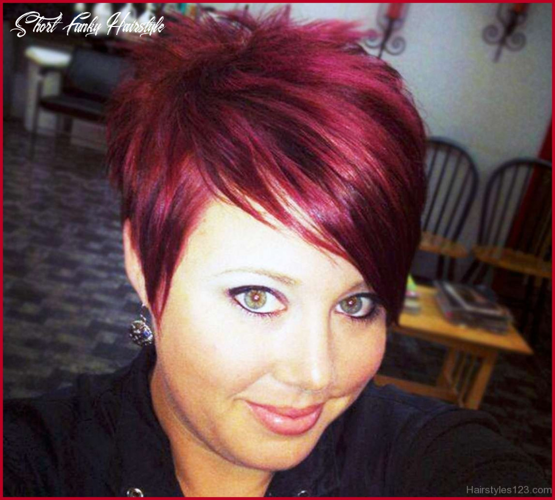 Short Funky Hairstyles 8 8 Wild Short Haircuts ...