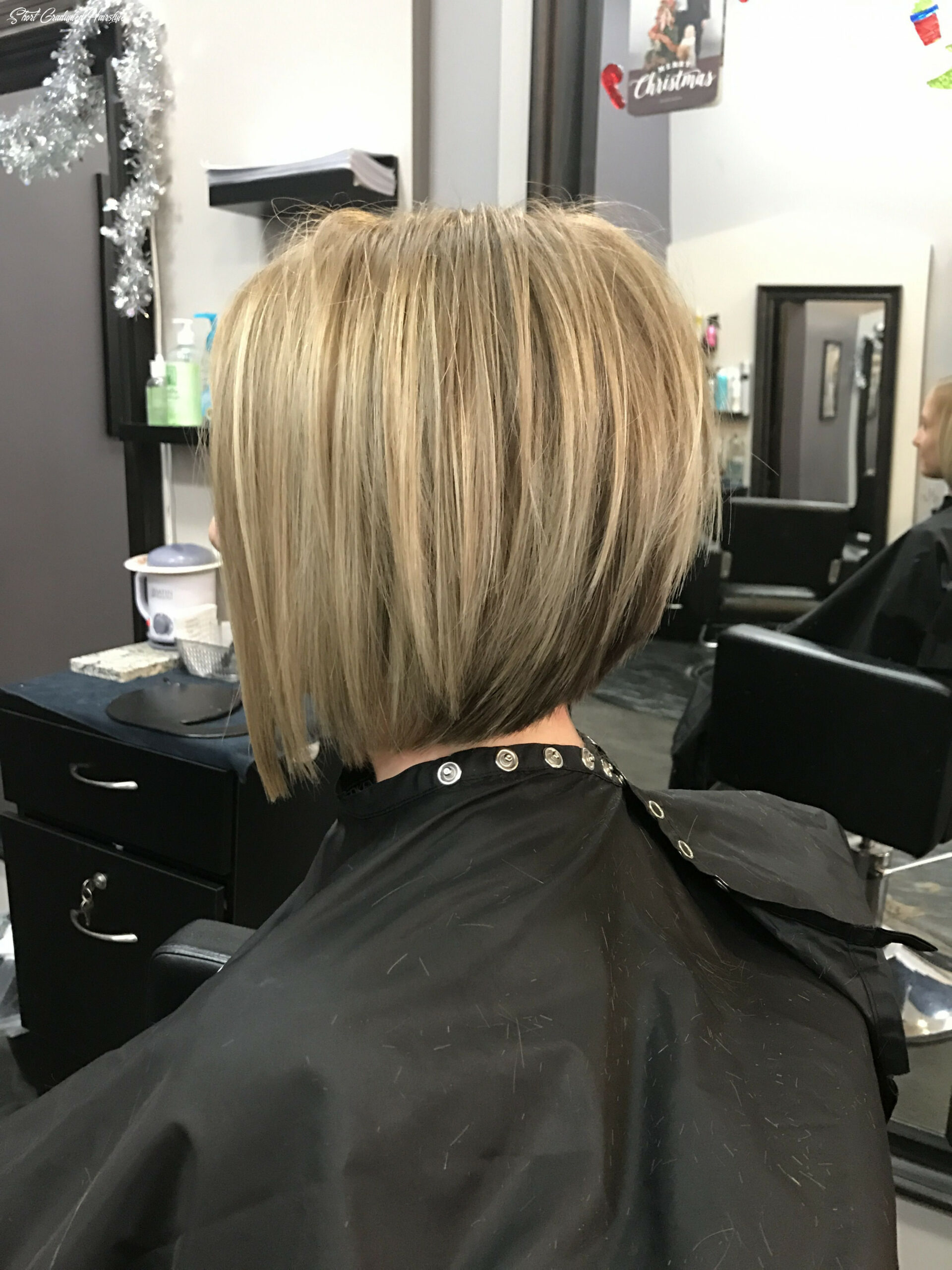 Short graduated bob created by geneva rygel | hair makeover