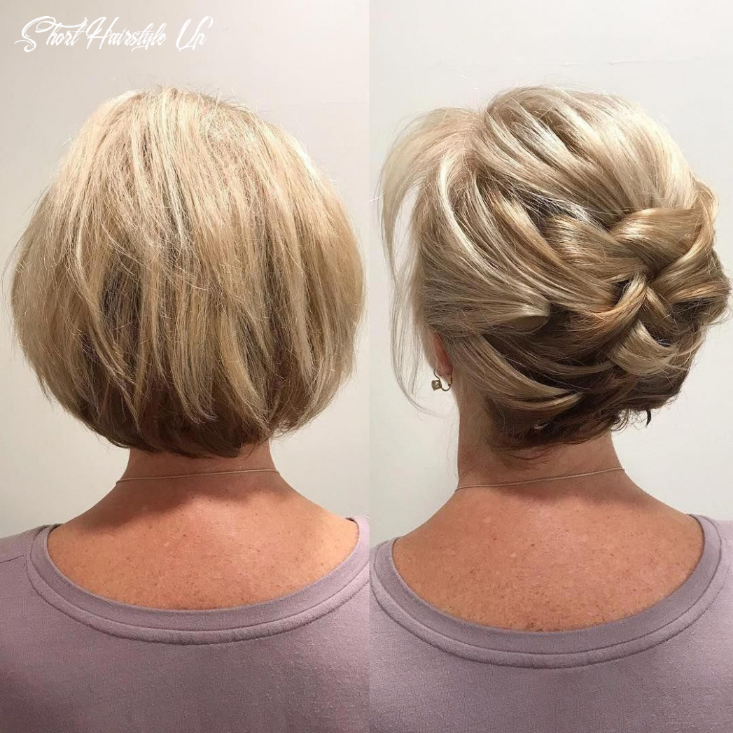 Short hair can go up (no hair extensions added!) booking classes