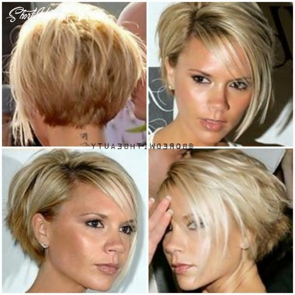 Short hair front and back victoria beckham short hair really love