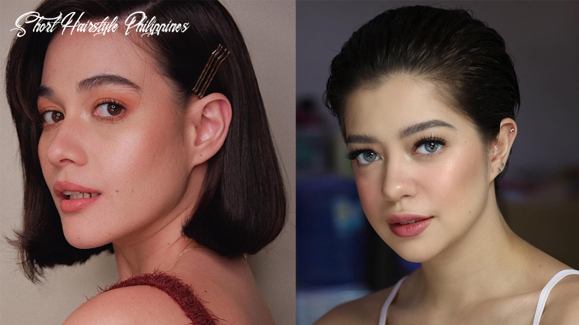 Short hair pinay and international celebrities short hairstyle philippines