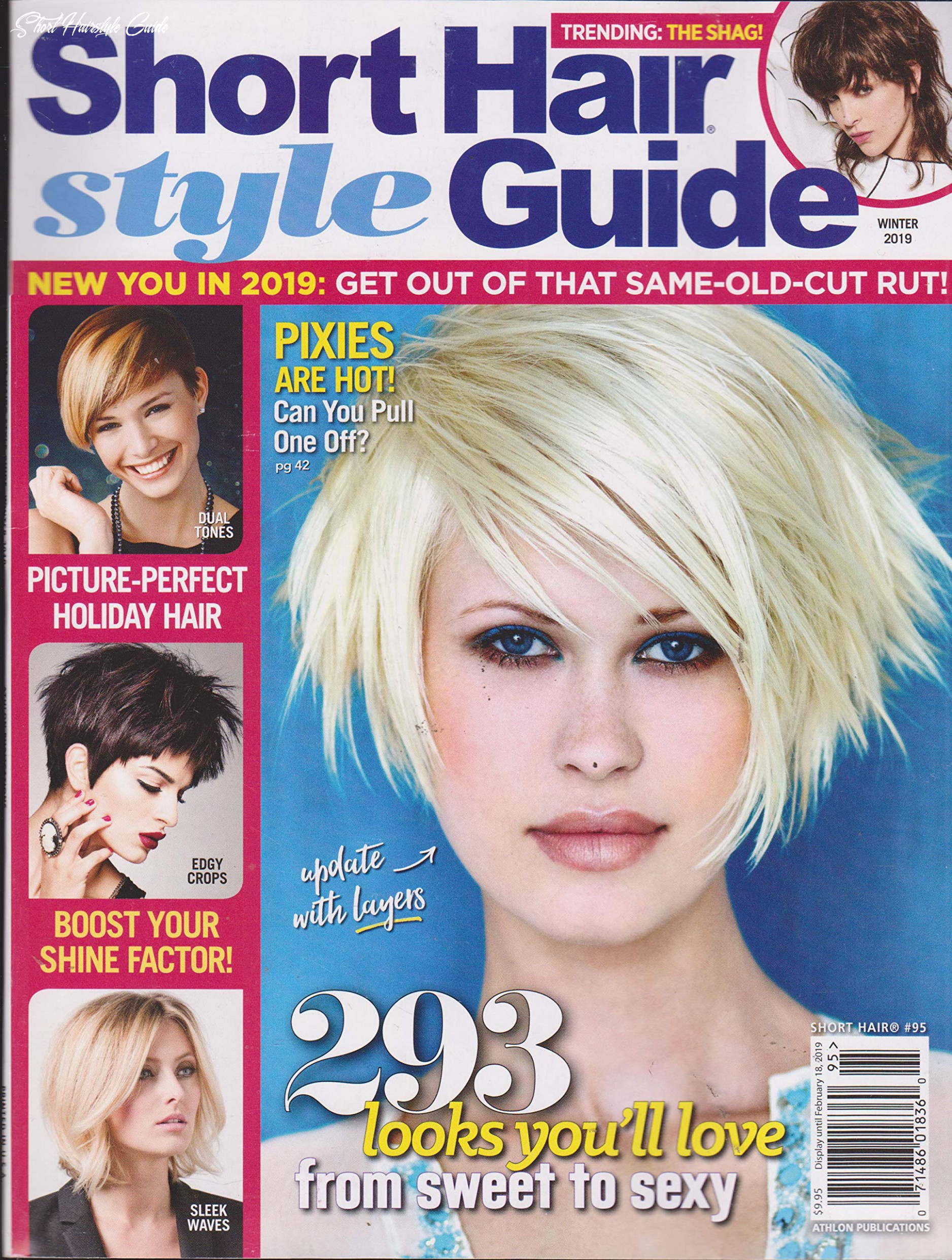 Short hair style guide magazine winter 8: amazon