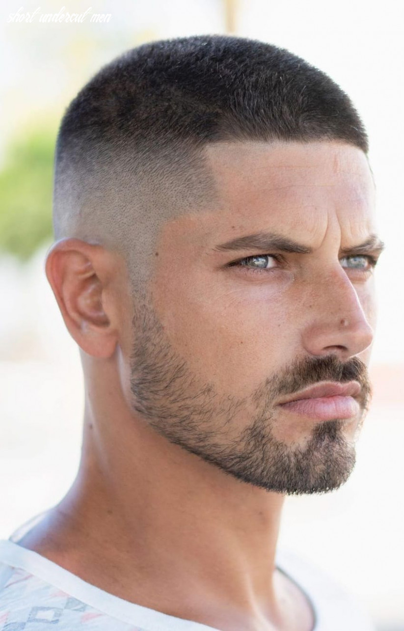 Short hair undercut look for men mens hairstyle 12 short undercut men