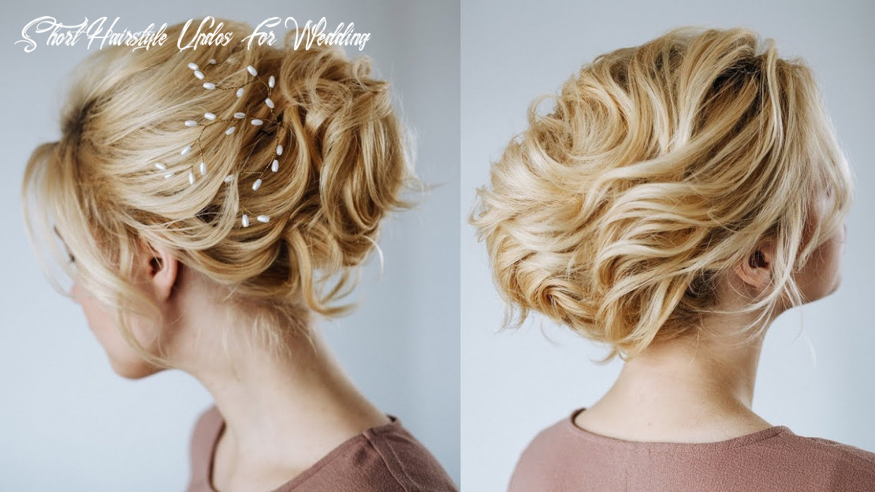 Short hair wedding updo | hairstyles for short hair from kukla lu short hairstyle updos for wedding