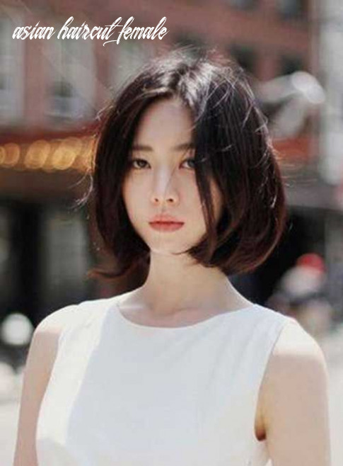 Short Haircut Asian Female Best Hairstyle And Ideas | Asian short ...