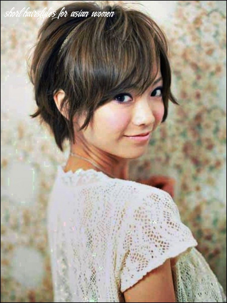 Short Haircut for asian Women | Short hair styles for round faces ...