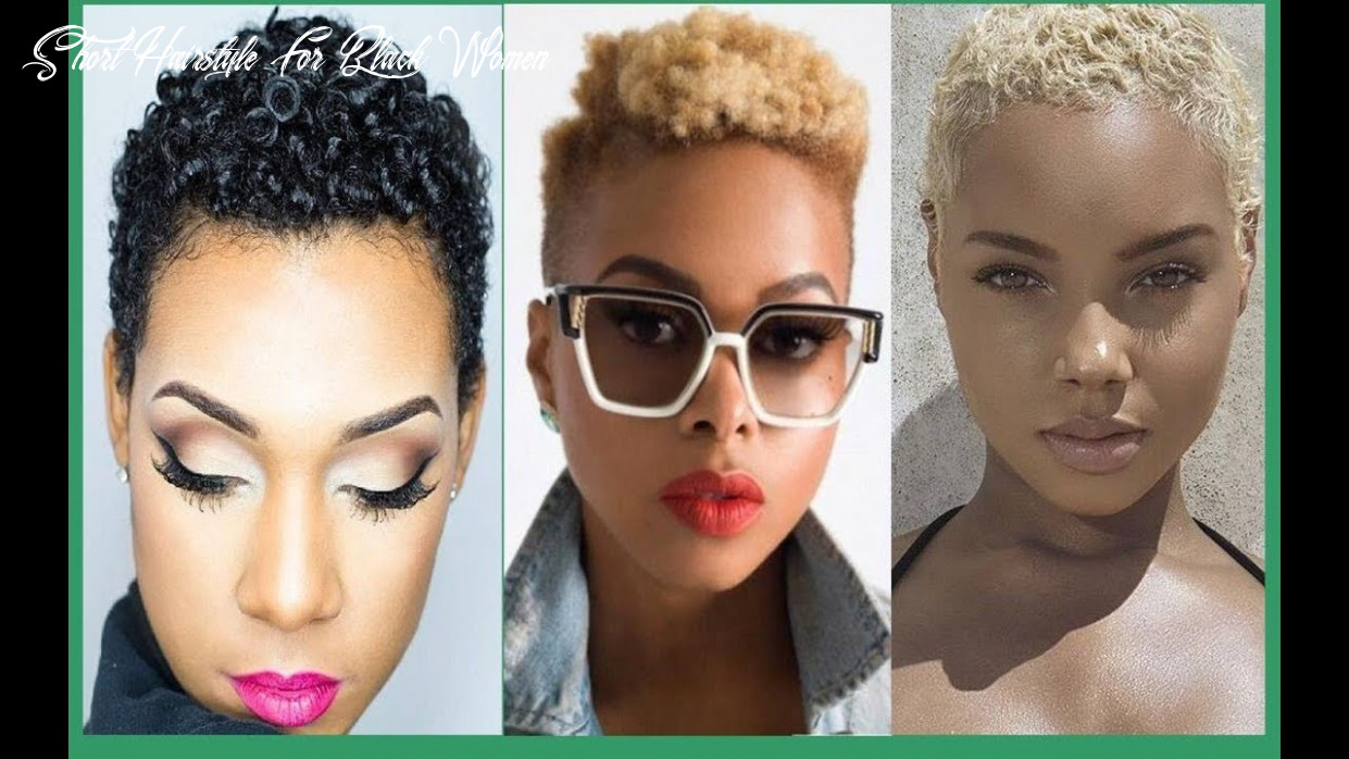 Short haircut hairstyles for black women 12/12 amazing