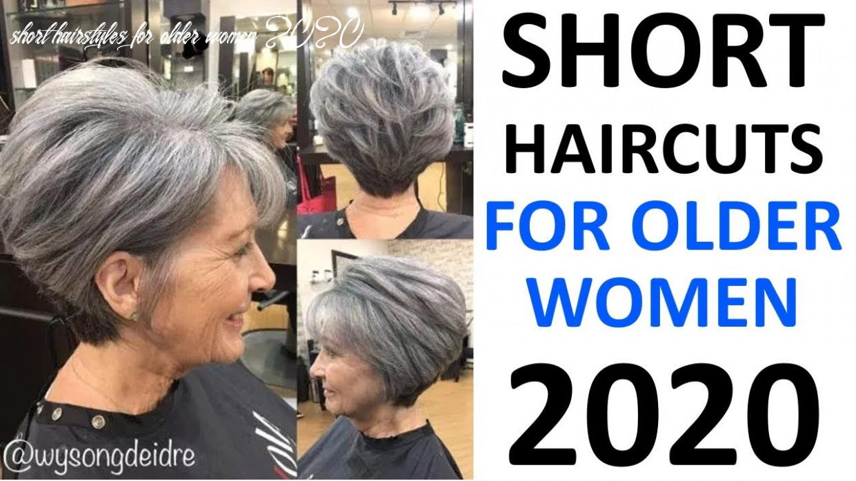Short haircuts 8! for older women 8 plus short hairstyles for older women 2020