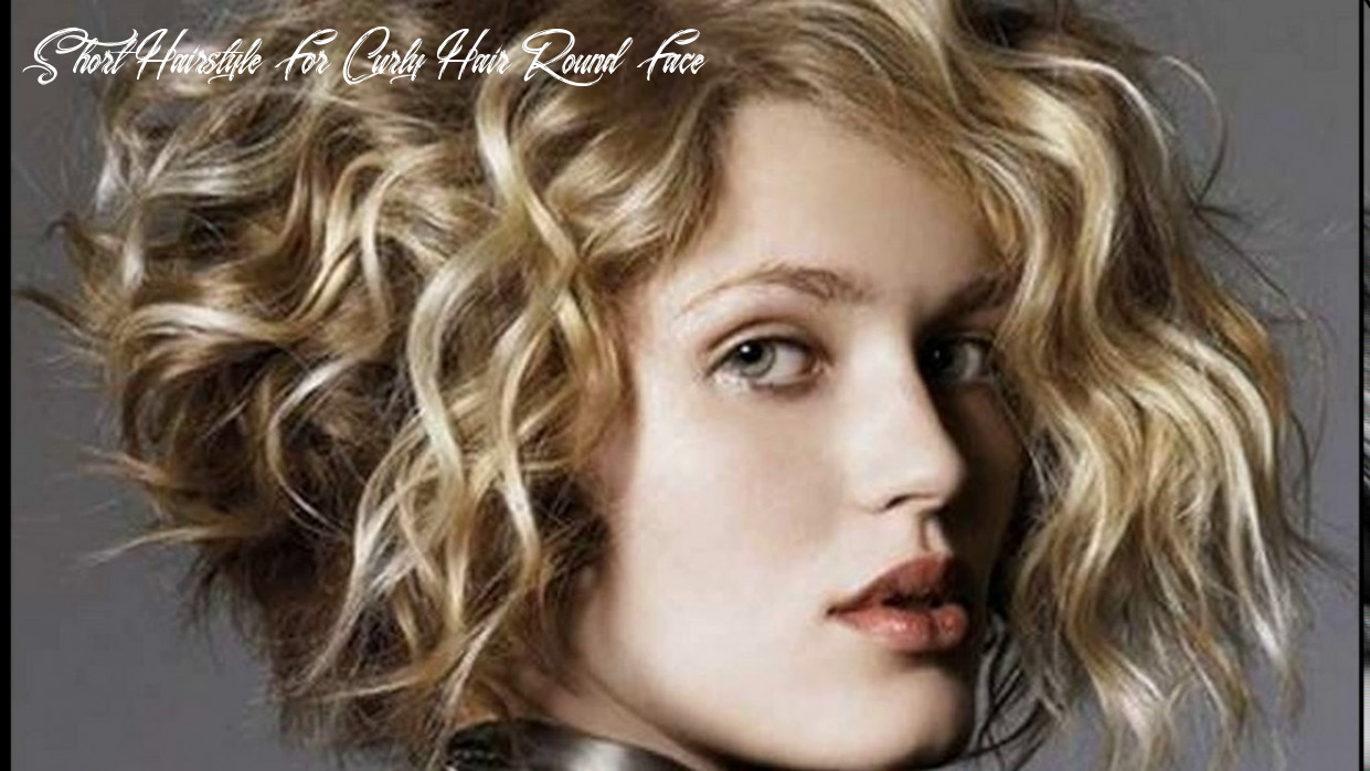Short haircuts curly hair round face youtube short hairstyle for curly hair round face