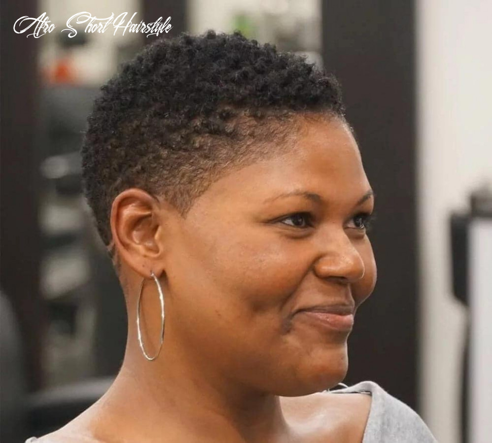 Short haircuts for black women 11 afro short hairstyle