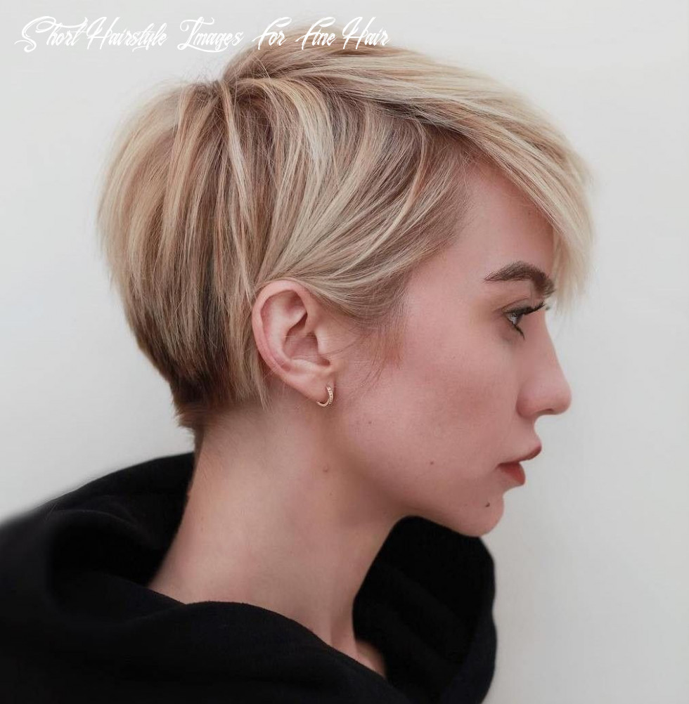 Short haircuts for fine hair 10 10 best trendy short hairstyles