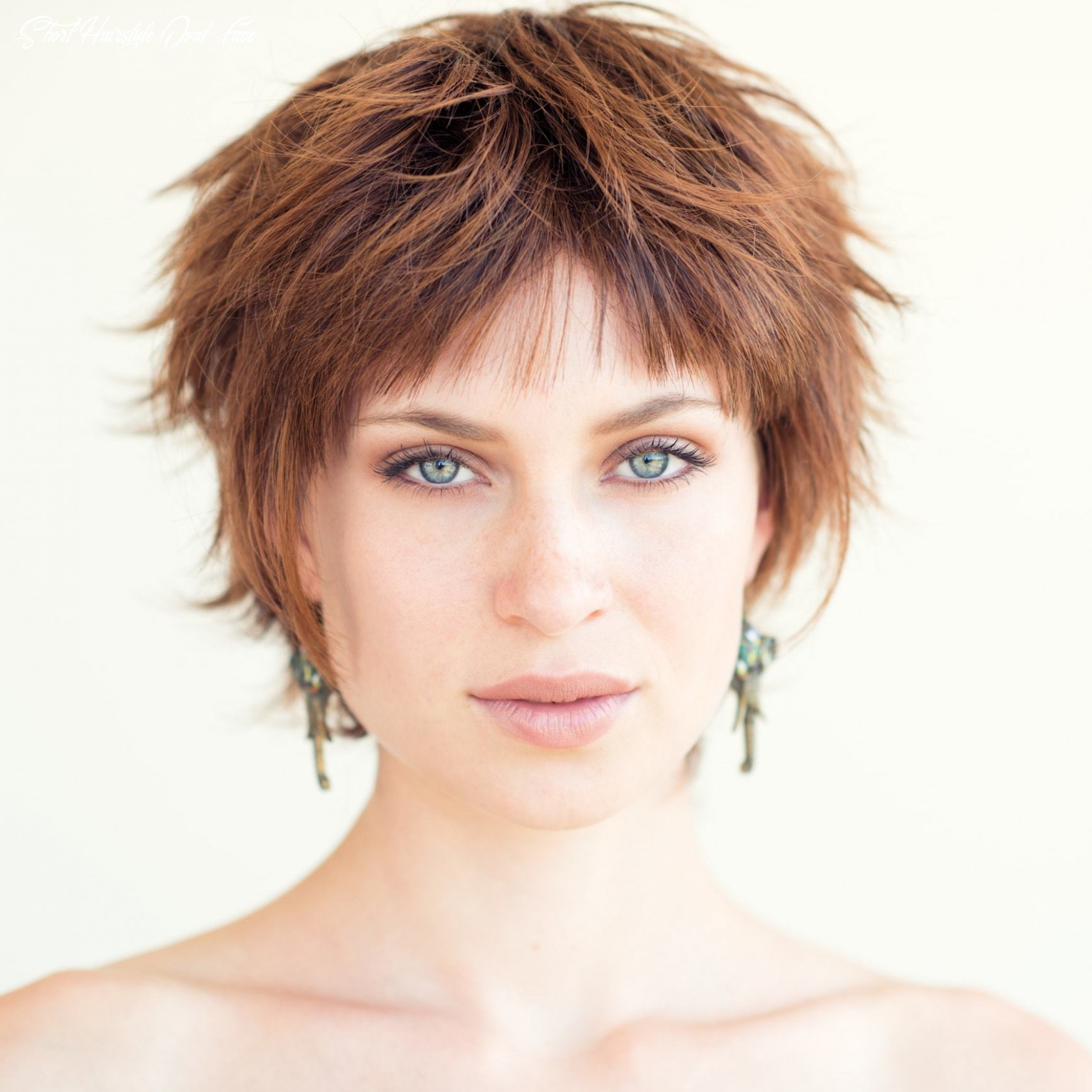 Short haircuts for oval faces for women   all things hair us short hairstyle oval face