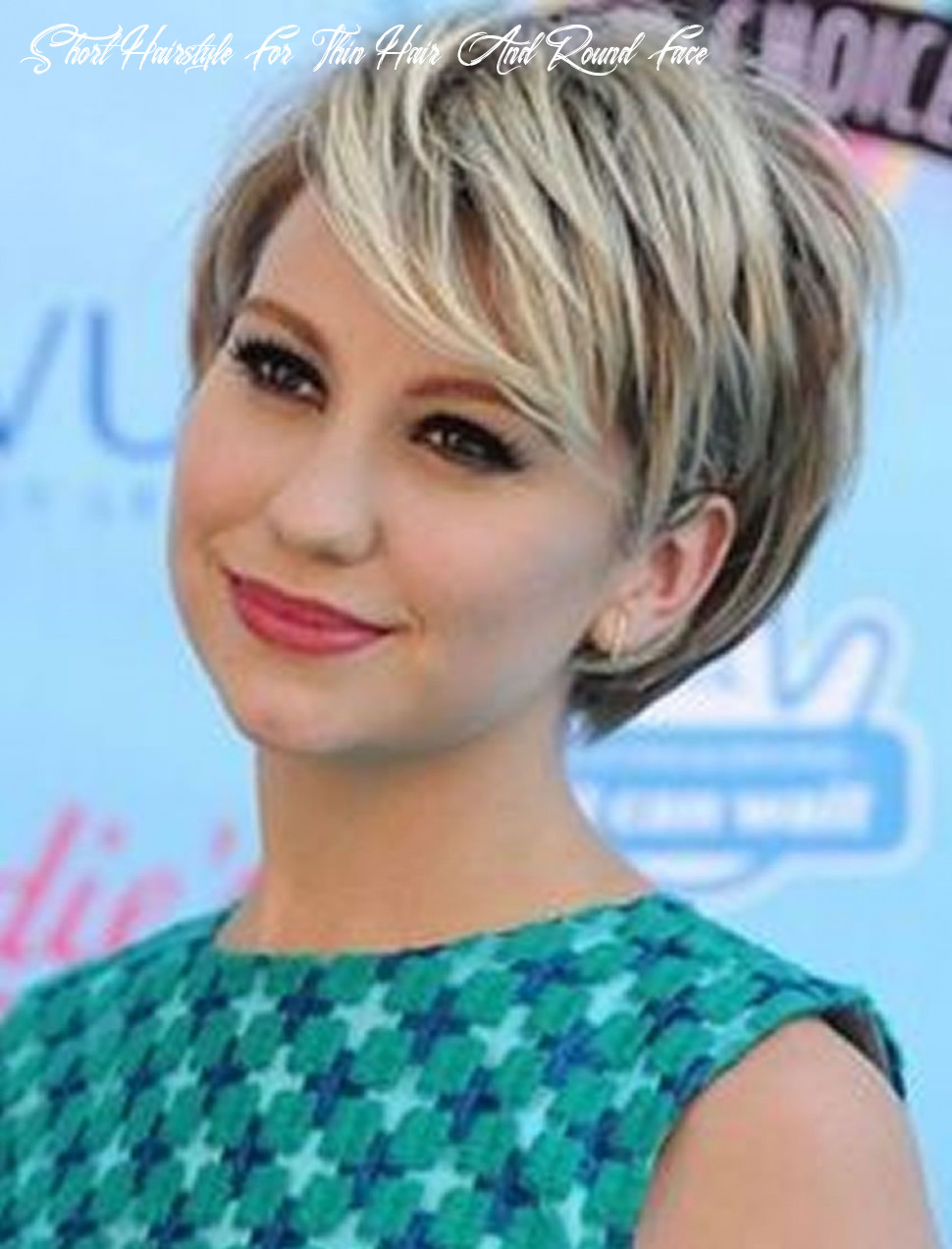 Short haircuts for round face thin hair ideas for 112 12