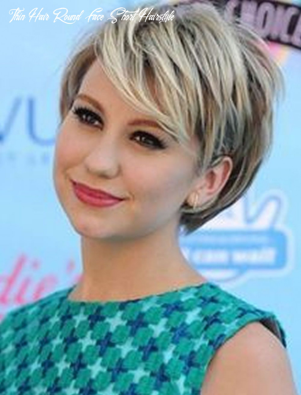 Short haircuts for round face thin hair ideas for 8 8