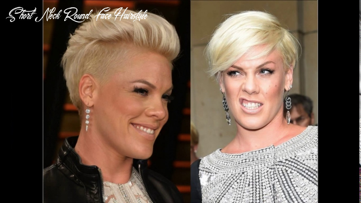 Short haircuts for round faces and short necks youtube short neck round face hairstyle