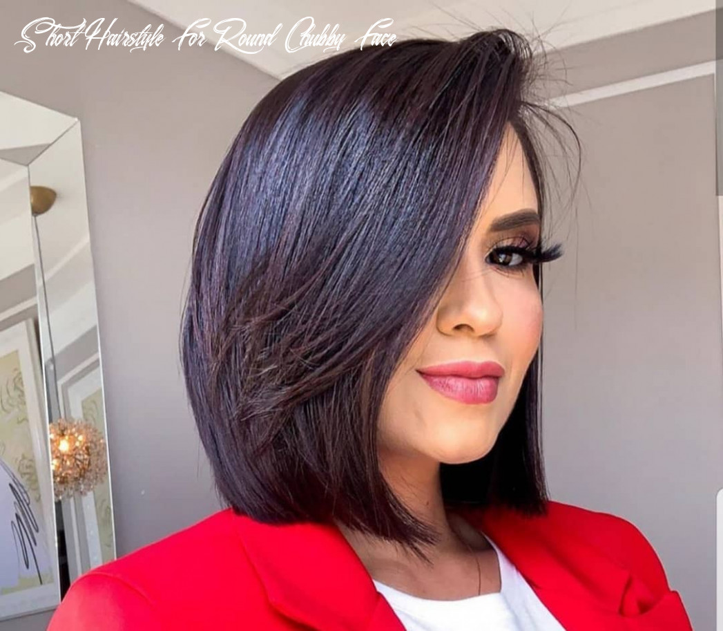 Short haircuts for round fat faces 11 short hairstyle for round chubby face