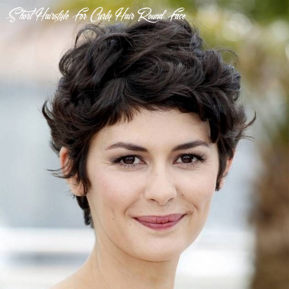 Short haircuts for wavy hair round face | thick hair styles, short