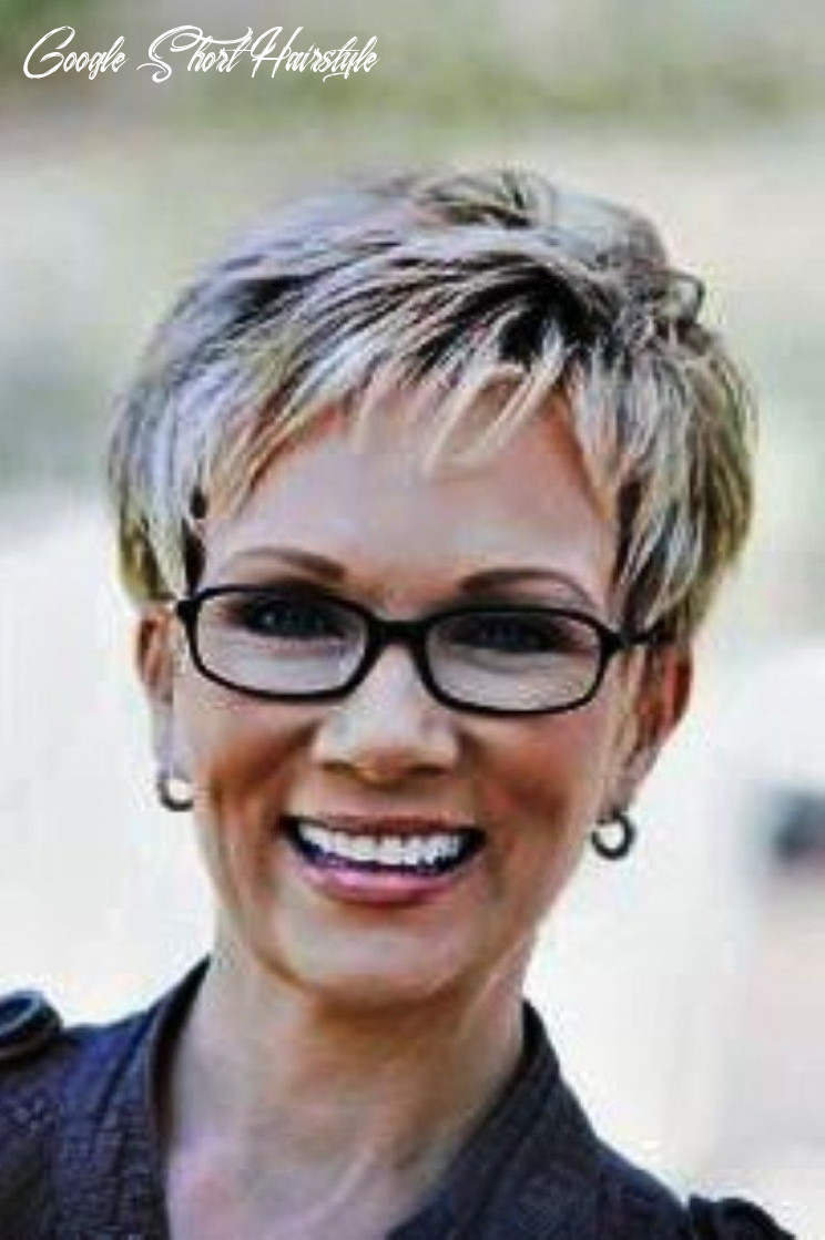 Short haircuts for women over 11 with glasses google search