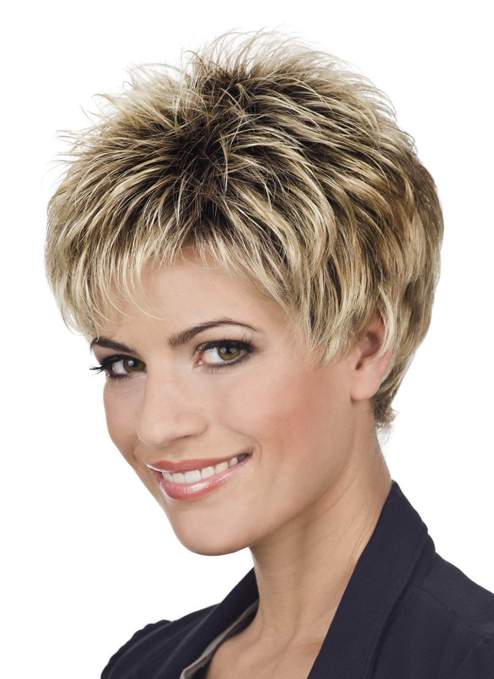 Short haircuts with volume | hair style and color for woman