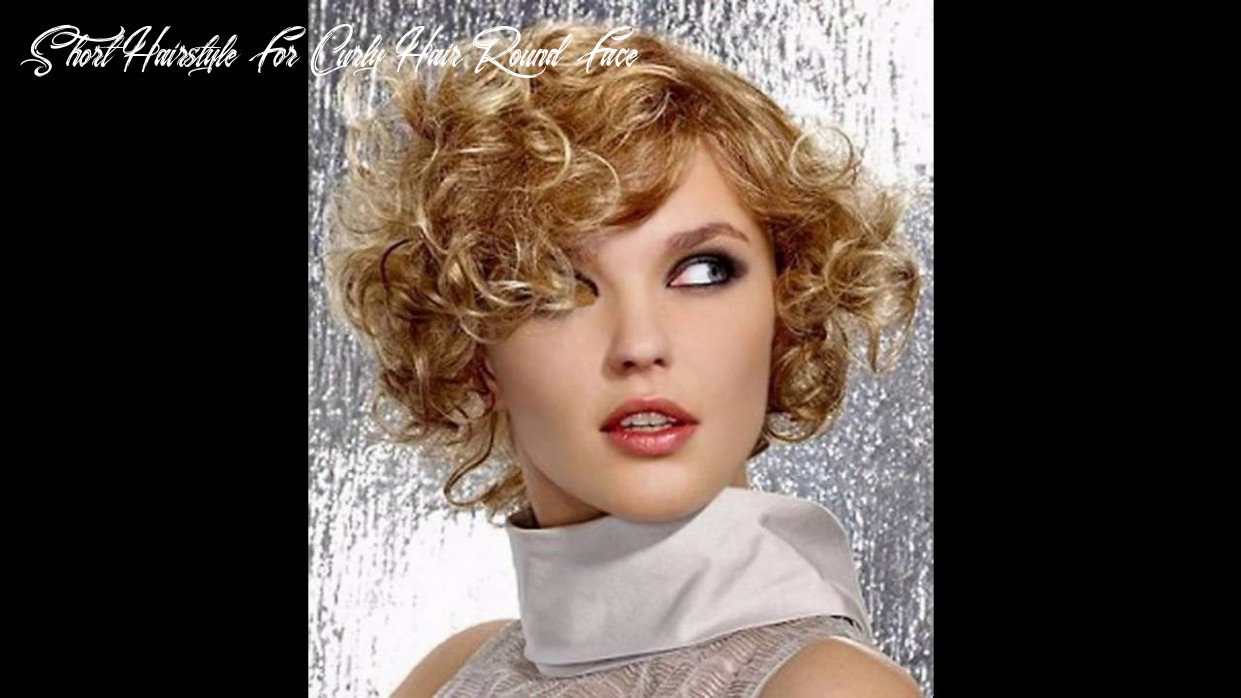 Short hairstyle for curly hair round face youtube short hairstyle for curly hair round face
