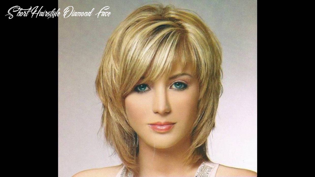 Short hairstyle for diamond face youtube short hairstyle diamond face
