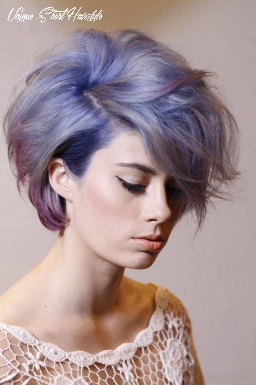 Short hairstyle with color ideas hairstyles magazine unique short hairstyle