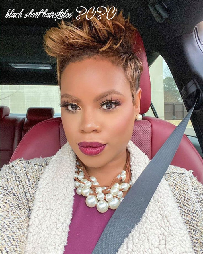 Short hairstyles : 12 sexy short haircuts for black women 12
