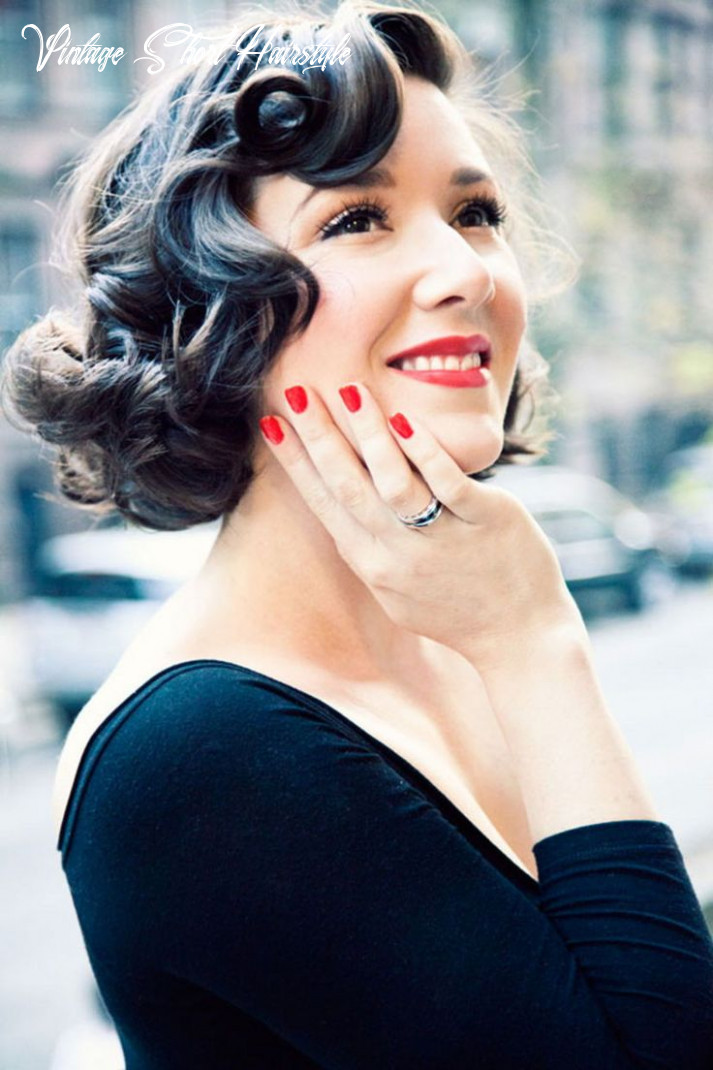 Short hairstyles : 9 cute vintage short hairstyles pinup pin and