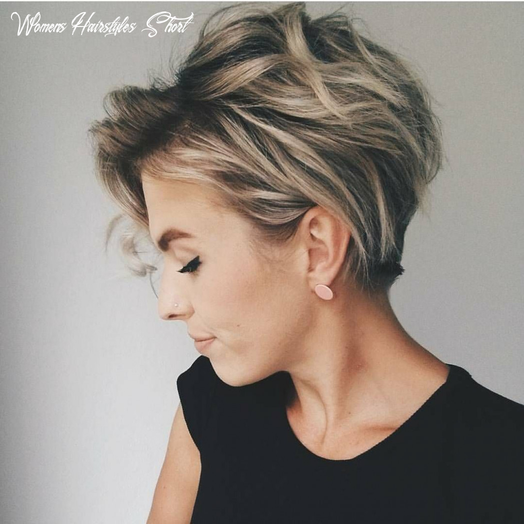 Short hairstyles 9 in 9 | short hair haircuts, thick hair