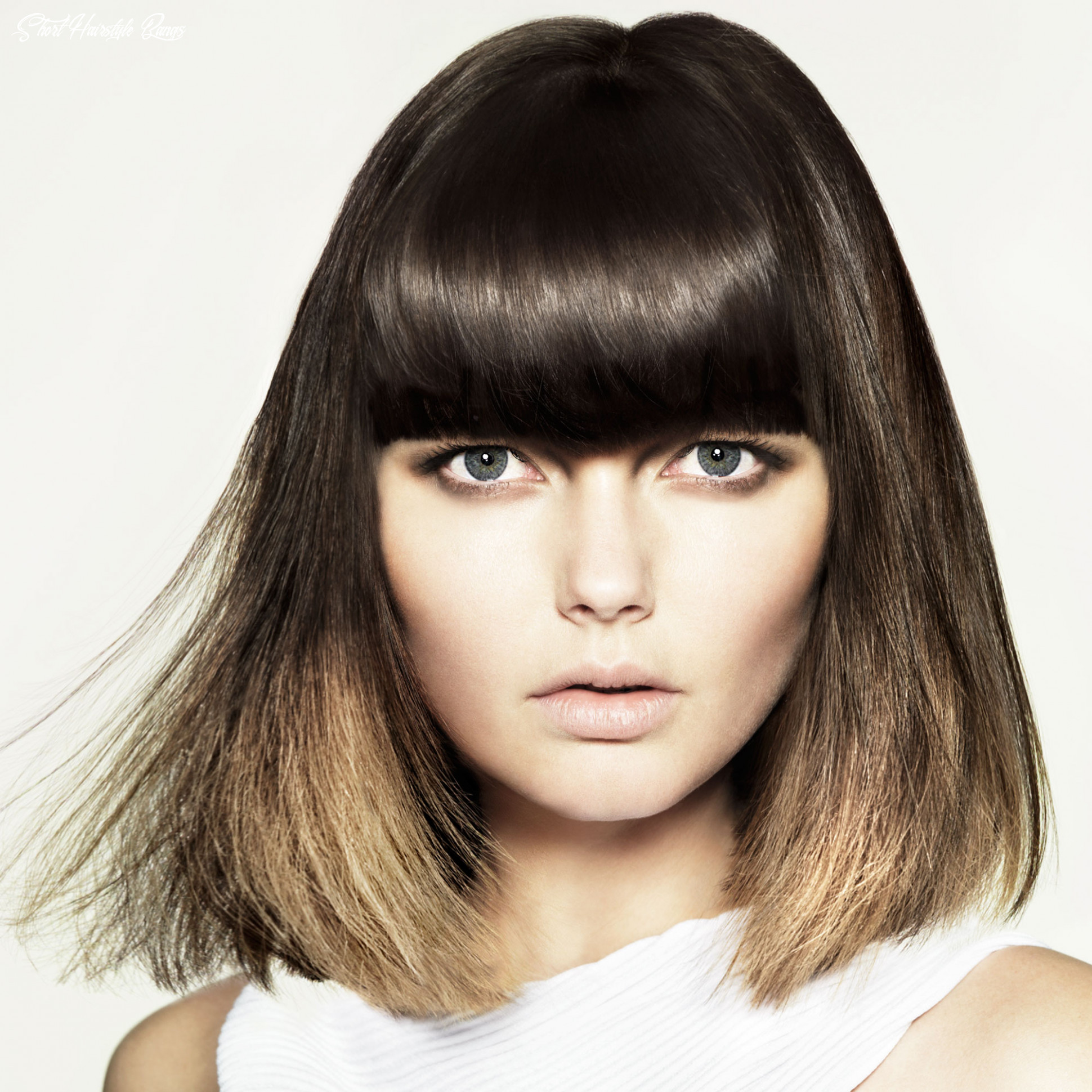 Short hairstyles | curly hairstyles | straight hairstyles | 11 women short hairstyle bangs