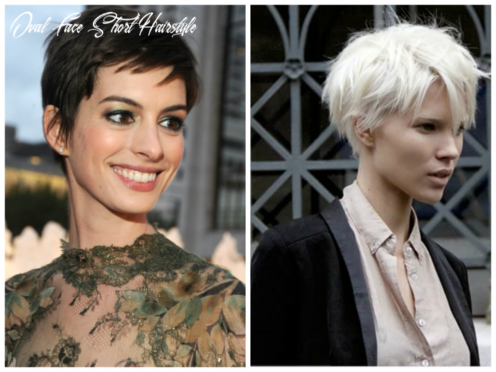 Short Hairstyles for an Oval Face Shape - Women Hairstyles