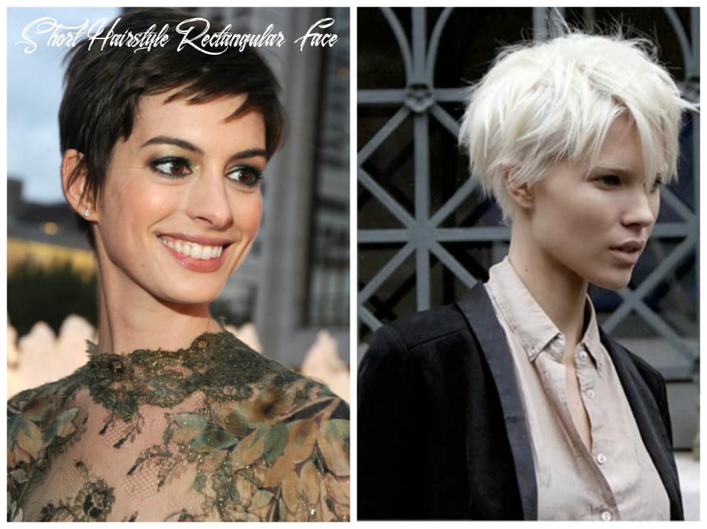 Short hairstyles for an oval face shape women hairstyles short hairstyle rectangular face