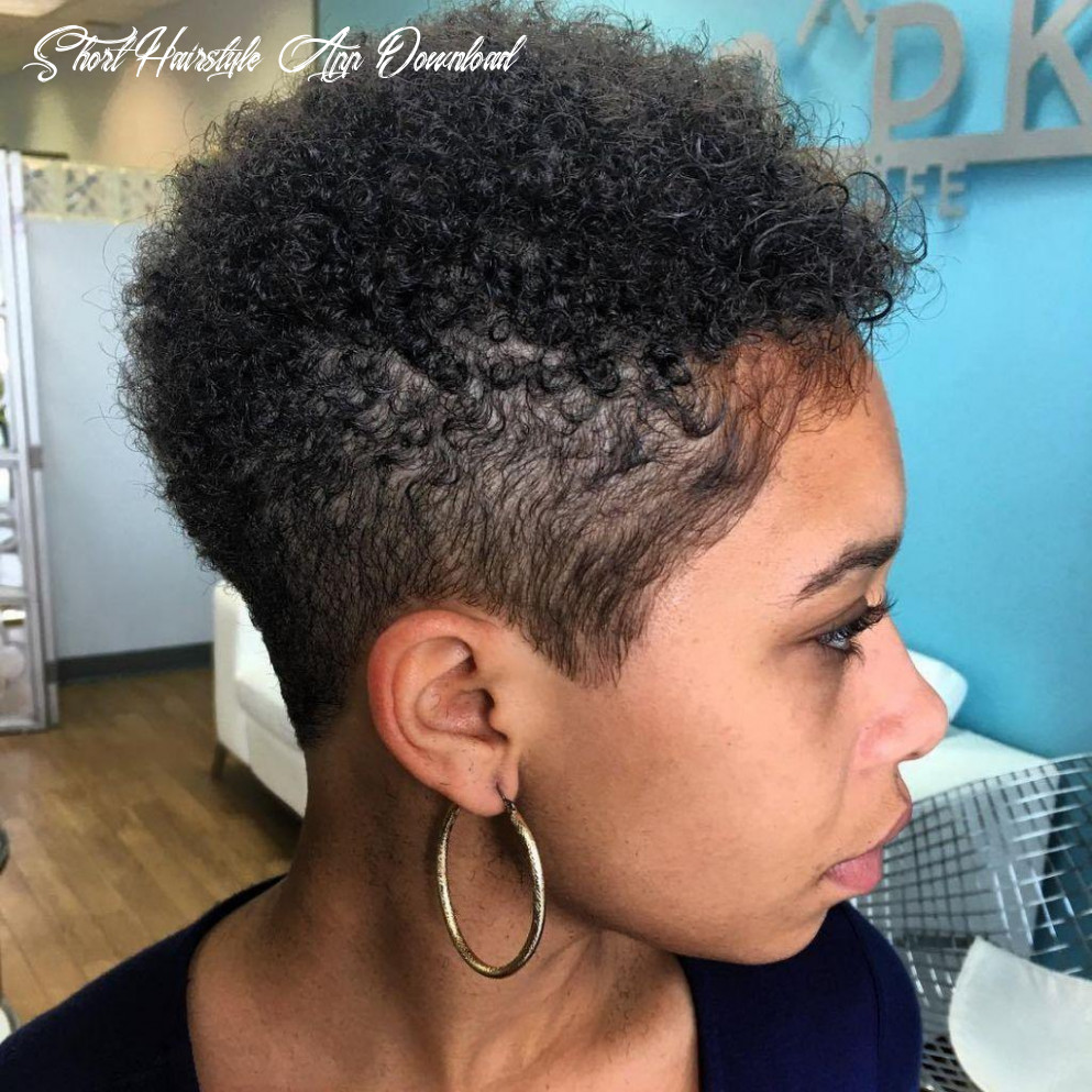 Short hairstyles for black women hair cut app for android apk