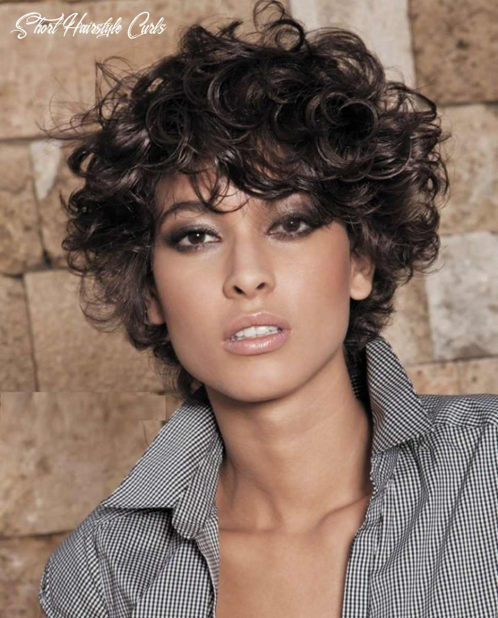 Short hairstyles for curly hair 11   frizzy curly hair, short