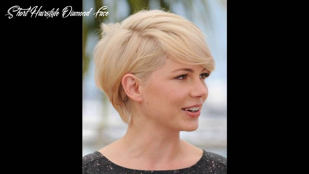 Short hairstyles for diamond shaped faces youtube short hairstyle diamond face