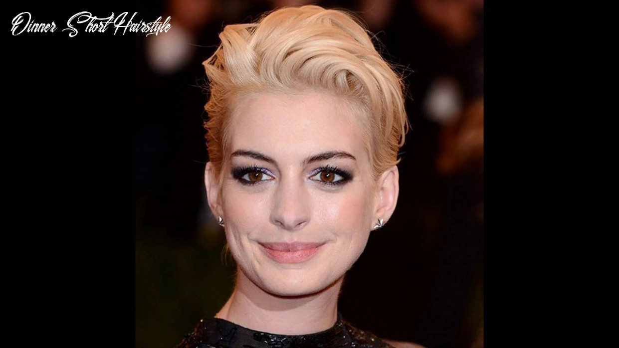 Short hairstyles for dinner party dinner short hairstyle