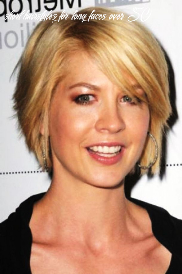 Short hairstyles for fine hair and long face over 10 | long face