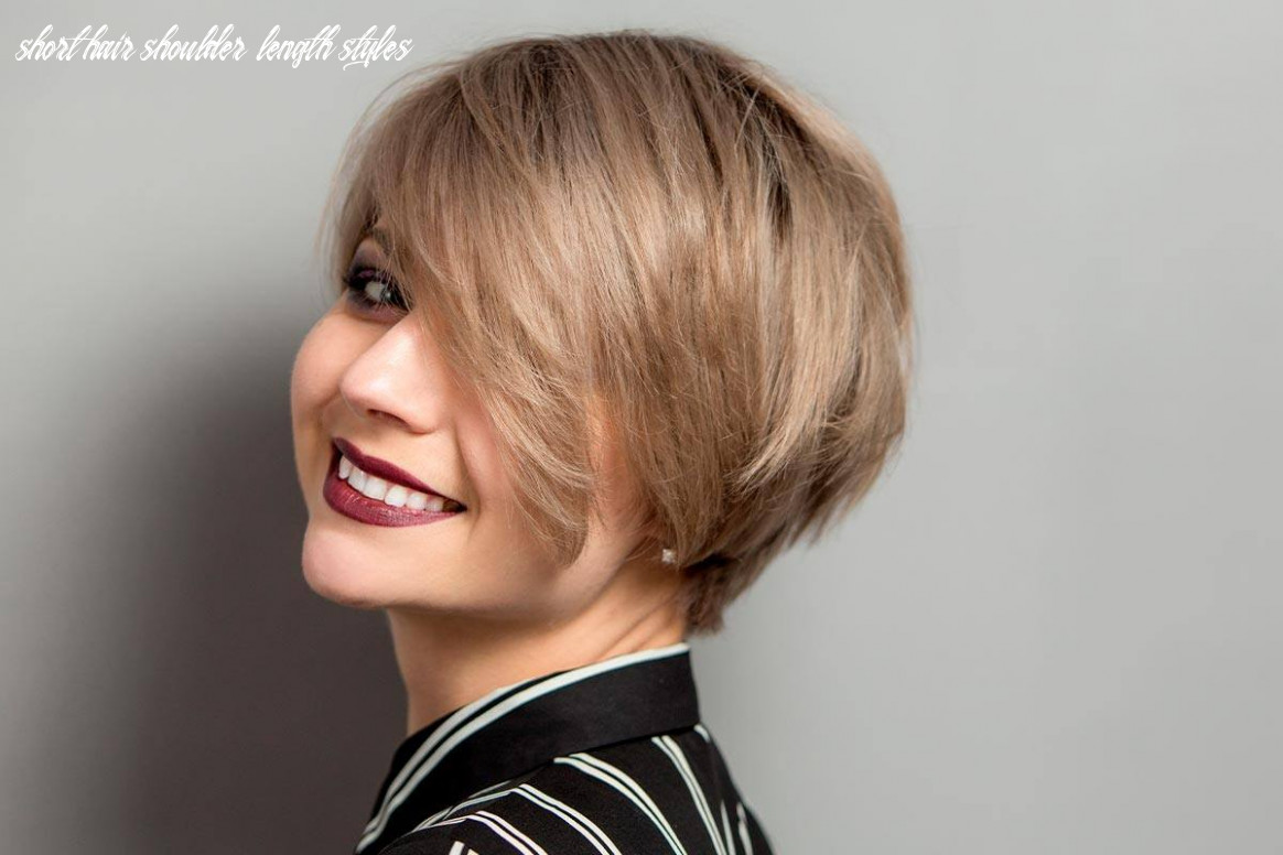 Short hairstyles for fine hair: make volume stay for good | glaminati short hair shoulder length styles
