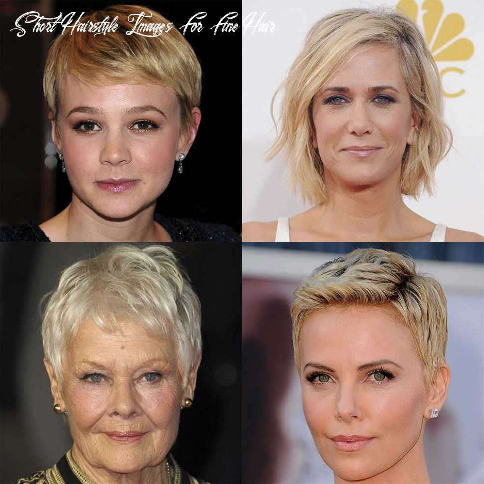 Short hairstyles for fine or thin hair short hairstyle images for fine hair